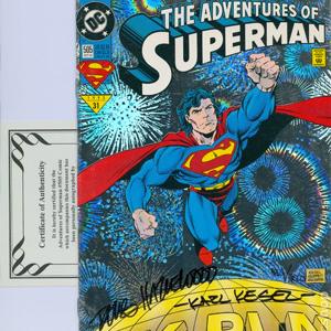Autographed Comics